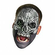 Chinless Dark Skull - Adult Vinyl Mask