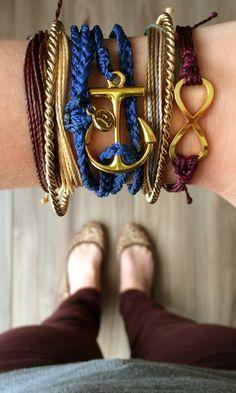 Infinity Bracelets and Accessories featuring Pura Vida Bracelets