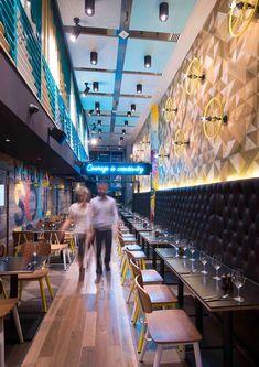 Bluetrain Restaurant in Melbourne by Studio Equator | Yellowtrace