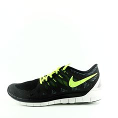promo code 6b7b7 309e0 NIKE Free 5.0 Lightweight Running Shoes Size 12 (Black)