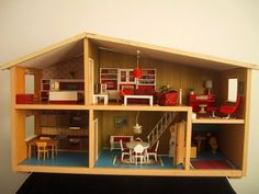 Lundby Stockholm Modern Dollhouse | The Shopping Sherpa: Modern Miniatures on Monday: Parade of Houses ...