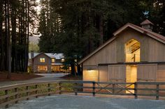 Fox Hollow - traditional - garage and shed - san francisco - Simpson Design Group Architects
