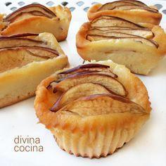 Esta receta de flognarde de manzanas es francesa, similar a la del Clafoutis, con una masa fina de huevos y harina como la de los crepes, y un sabor suave y delicado. Apple Recipes, Sweet Recipes, Cooking Time, Cooking Recipes, Cap Cake, Pan Dulce, Tasty, Yummy Food, Pastry Cake