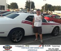 #HappyAnniversary to Patrick Morgan Carla Morgan on your 2013 new car  from Ruben Cantu at Huffines Chrysler Jeep Dodge Ram Lewisville!