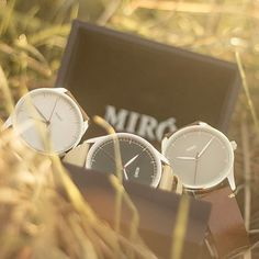 Miró Watches — Creme Face Nature Strap - Watches