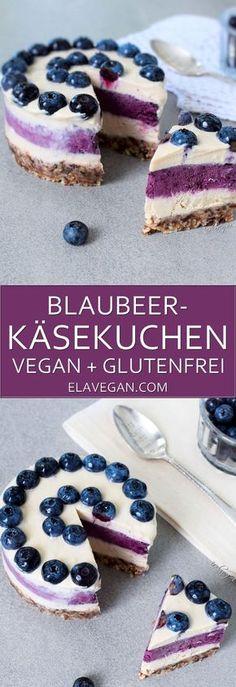 Blaubeer-Käsekuchen Pinterest