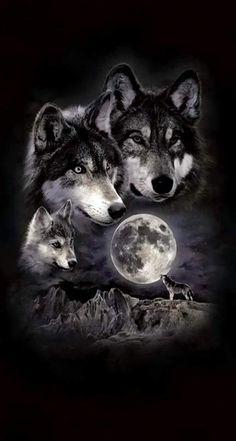 -Super tattoo back moon wolves Ideas Ideas de tatuajes super lunares lobos See it Wolf Photos, Wolf Pictures, Wolf Tattoos Men, Dog Tattoos, Wolf Pack Tattoo, Tattoo Wolf, Two Wolves Tattoo, Wolf Book, Wolf Artwork