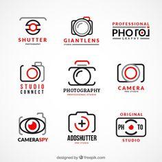 Collection of photography logos Free Vector Camera Logo, 2 Logo, Logo Branding, Corporate Branding, Fotografia Free, Free Logos, Logo Photographe, Logo Foto, Inspiration Logo Design