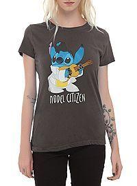 HOTTOPIC.COM - Disney Lilo & Stitch Model Citizen Girls T-Shirt