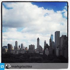 #InzerilloM2MgoestoNYC   The view across Central Park from the Trump International Hotel, during an appointment with custom tailor, Michele Inzerillo. #newyorkcity #cityscapes #views #architecture #centralpark #micheleinzerillo