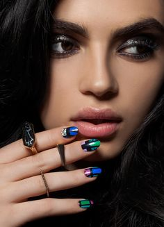 ncLA   Nail Wraps   Iconic Glamour