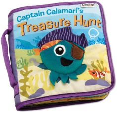 Pirates are just okay.  Pirate octopi are awesome.  Designed for an older baby (vs. the other lamaze books we like that are for 0-6 mos), he's not quite as into this one yet.
