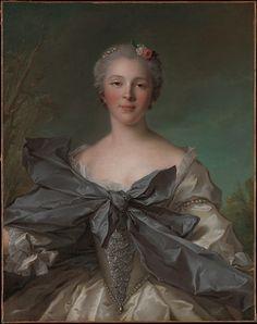 Marie Françoise de La Cropte de St. Abre, Marquise d'Argence, 1744 by Jean François Natier