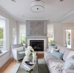 Simple yet chic living room decor interior design via @jillianmharris