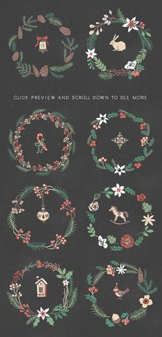 Christmas collection by kite-kit on Creative Market