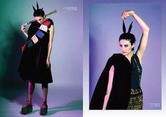Photo: Shareen Akhtar Editing: Nadia Tan  Art Direction: Alexandra Balisova Styling: Nayoung Lim / Nadia Tan  Assistant: Tatiana Trufanova Hair & MUA: Daiva Kazlauskaite  Model: Dev@D1 models Milk Magazine, Poppy, Poppies, Mac