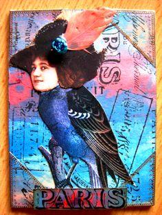 "8th Annual Blog ATC Swap - ""Bird People"" at Marion`s Blog"