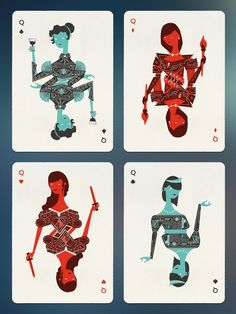 Image result for playing card illustrations