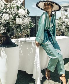 Boho Outfits, Fashion Outfits, Womens Fashion, Special Occasion Outfits, Summer Set, Clothing Hacks, Girl With Hat, Look Chic, Dress To Impress