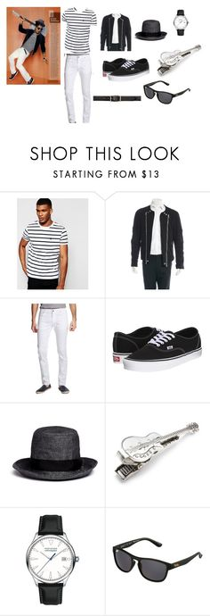 """bruno mars outfit (sorta)"" by jtbae ❤ liked on Polyvore featuring ASOS, Balmain, Versace, Vans, Attachment, Zack, Movado, Superdry, Alexander McQueen and men's fashion"