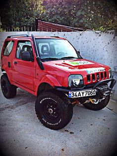 Jimny after shower