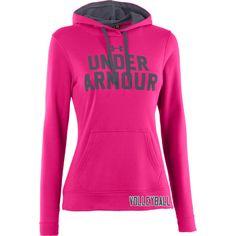 Under Armour Battle Hoodie in Pinkadelic! Under Armour Logo dd1460c716d55