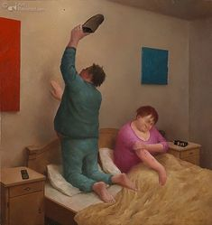Art Card Mosquito by artist Marius van Dokkum. Art Revisited online store for affordable Art! Art calendars, Art books and Giclées. New Astrology, Dutch Painters, Dutch Artists, Naive Art, Painting & Drawing, Illustrators, Art Drawings, Funny Pictures, Illustration Art