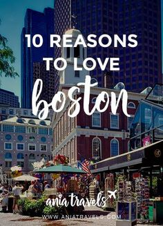 Boston is a beautiful city! Here are some of my favorite things to do in Boston and why I fell in love with the city so much.