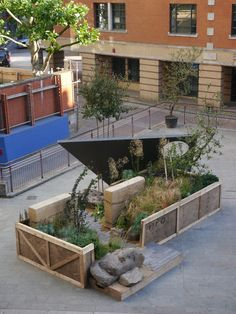 Cityscapes Remix Garden | London UK landscape architecture recycle small garden