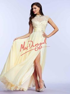 Gorgeous prom gowns featuring sequins and beads, elegant lace, romantic florals, and daring styles. Discover why Mac Duggal designs are the dream dresses of so many girls Pretty Prom Dresses, Prom Dresses 2015, Elegant Prom Dresses, Prom Dresses For Sale, Pageant Dresses, Evening Dresses, Prom 2015, Party Dresses, Grad Dresses