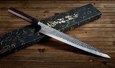 The beautiful Shizuku Sujihiki knife. #japanese #knife #cooking