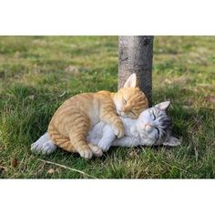 online shopping for Tabby Cats Sleeping Statue Hi-Line Gift Ltd. from top store. See new offer for Tabby Cats Sleeping Statue Hi-Line Gift Ltd. Cute Baby Cats, Cute Little Animals, Cute Cats And Kittens, Cute Funny Animals, Kittens Cutest, Funny Cats, Bad Cats, Grey Tabby Cats, Grey Kitten