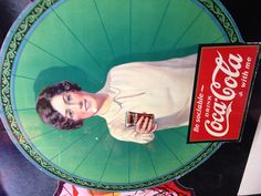 Coke a cola sign