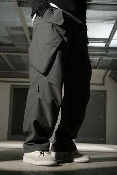 Imgur Post - Imgur Workout Gear For Men, Ropa Hip Hop, Fashion Pants, Mens Fashion, Cyberpunk Fashion, Monochrome Fashion, Jeans Style, Workout Shirts, Streetwear Fashion