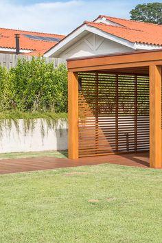 Porch Roof Design, Modern Gazebo, Patio Enclosures, Garden Pavilion, My House Plans, Garden Design, House Design, Cafe Interior Design, Pergola With Roof