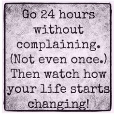 24 hours can change your life!