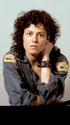 Ripley. Played by Sigourney Weaver. Alien 1979.