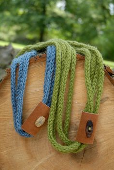 20% off my knit jewelry ends tomorrow! Enter JEWELRY20 at checkout