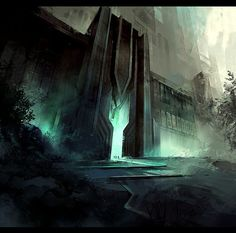 Gate Concept Art
