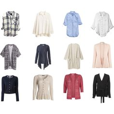 A fashion look from May 2014 featuring linen shirts, red top and pink top. Browse and shop related looks. Capsule Wardrobe, Cardigans, Blouses, Shoe Bag, Stuff To Buy, Shopping, Collection, Design, Women