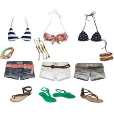 clothes for the beach