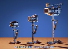 GlideCam is the best steady cam product out there for a DSLR video set-up. Glidecam XR-2000 Price: $399.00