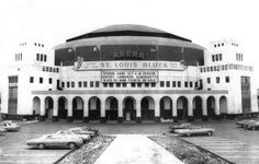 Former Home Of The St. Louis Blues Hockey Club