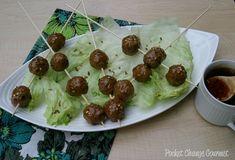 Asian Cuisine for the Olympics: Asian Meatballs
