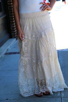Old soul maxi skirt