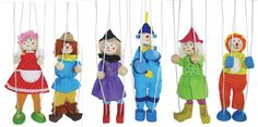 Wizard of Oz Marionette Puppets