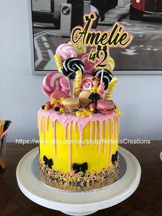 Wiggles Birthday, 1st Birthday Cake For Girls, Wiggles Party, Birthday Cake Girls, 2nd Birthday Parties, Wiggles Cake, The Wiggles, Custom Cake Toppers, Custom Cakes