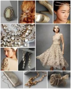Moodboard : All that shimmers