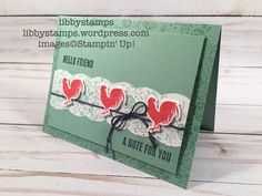 libbystamps, stampin up, Best Badge Punch, Wood Words, Wood Crate Framelits, CCMC
