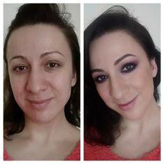 Before After Transformation Makeup Beauty Makeuptransformation Bellashoot